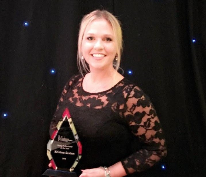 Kristina Sexton awarded Young Professional of the Year